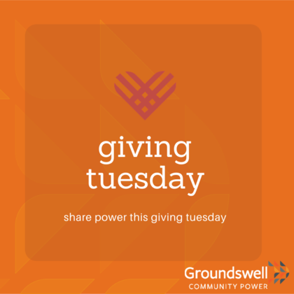 Share Power for Giving Tuesday!