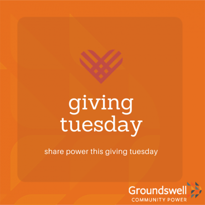 Giving Community on Giving Tuesday