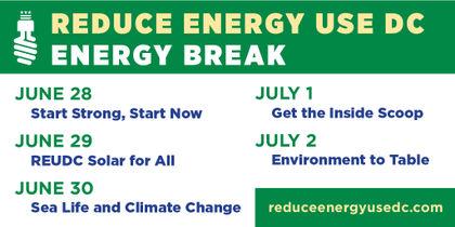Reduce Energy Use DC