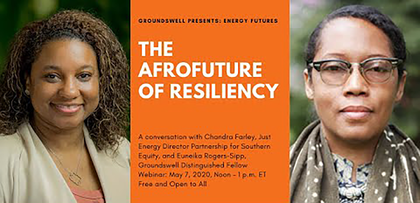 This is a conversation with Chandra Farley, Just Energy Director at Partnership for Southern Equity, and Euneika Rogers-Sipp, Groundswell distinguished fellow.
