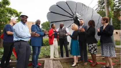 Mohawk Group Leaves Positive Handprints Through Community Centered Solar Energy Initiative
