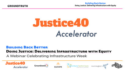 Building Back Better — Doing Justice: Delivering Infrastructure with Equity