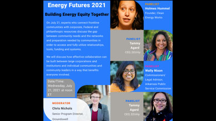 Energy Futures 2021: Building Energy Equity Together