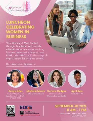 Women of West Central Georgia: Luncheon of Celebrating Women in Business