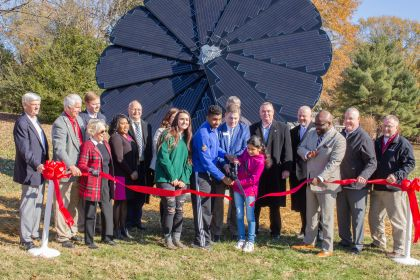 Smartflower by Rockingham County Schools in Eden, North Carolina