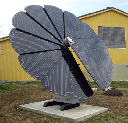 Smartflower Solar System at The Empowerment Temple in Baltimore