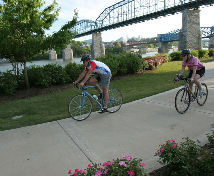 Biking in Chattanooga