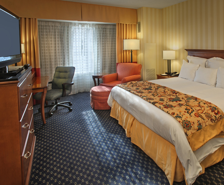 King Room at Hartford Marriott Downtown