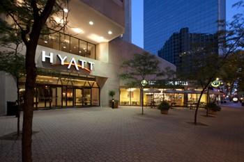 Hyatt Entrance