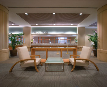 Ala Moana Hotel Reception Area