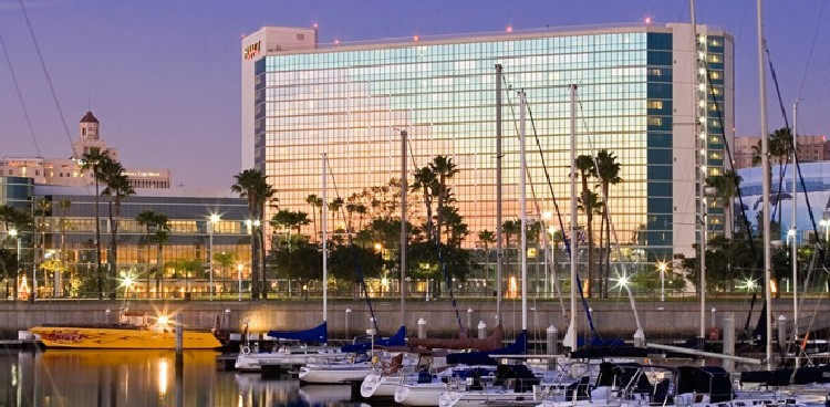 Hyatt Regency Long Beach (from harbor)