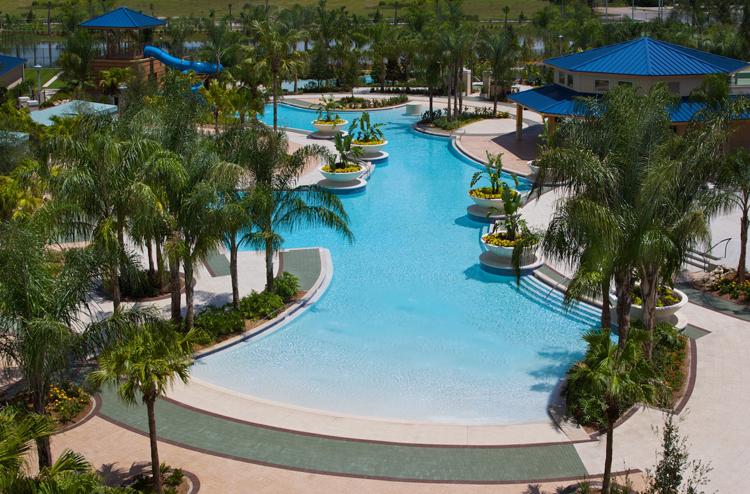 2 Pools, Lazy River, Slide, & Whirlpools
