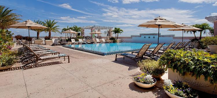 Relax on our 6th Floor Pool Deck