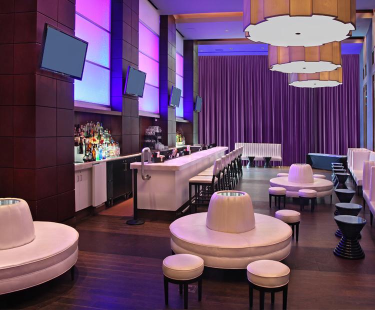 Crush Lounge at Hartford Marriott