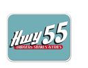 Dot 55 hwy sign