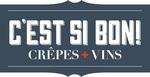 C'est Si Bon! Crepes+Vins Logo