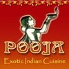 Pooja Exotic Indian Cuisine Logo