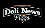 Deli News Pizza Logo