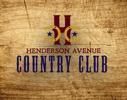 Henderson Ave Country Club Logo