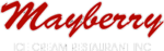 Mayberry Icecream Restaurant Logo