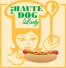 Haute dog lady logo1