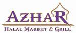 Azhar Halal Market & Grill Logo