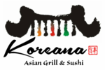 Koreana Asian Grill and Sushi Logo
