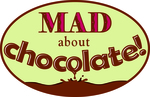 Mad about chocolate flat logo color