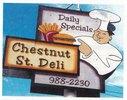 Chestnut St. Deli Logo