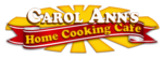 Carol Ann's Home Cooking Cafe Logo