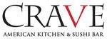 Logo crave american kitchen sushi bar omaha nebraska