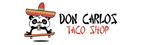 Don Carlos Taco Shop Logo