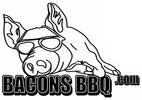 Bacons BBQ Logo