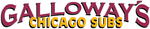 Galloway's Chicago Subs Logo