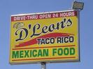 D'Leon's Taco Rico Logo