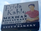 Frida Kahlo Mexican Restaurant and Lucy's Bakery Logo