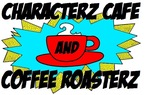 Characterz Cafe and Coffee Roasterz Logo