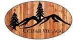Cedar Village Ice Cream & Sandwich Shop Logo