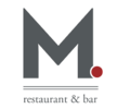 M Restaurant and Bar Logo