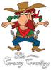 Crazy cowboy logo