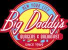 Burgers and breakfast logo