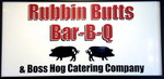 Rubbin Butts Bar-B-Q Logo