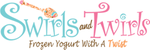 Swirls and Twirls Frozen Yogurt & Ice Cream Logo