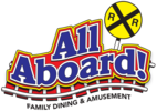 All Aboard! Family Dining & Amusement Logo