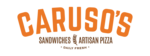 Caruso's Sandwiches and Artisan Pizza Logo