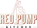 Red pump logo
