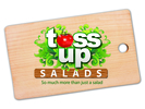 Toss Up Salads Logo