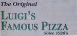 The Original Luigi's Famous Pizza Logo