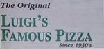 The Original Luigi's Famous Pizza Logo
