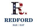 Redford logo navy text